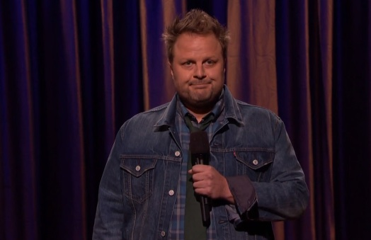 Forrest Shaw's TV debut on Conan
