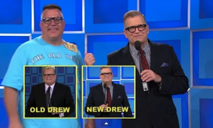 Old Drew meets New Drew Carey on Veterans Day 2014 episode of The Price Is Right