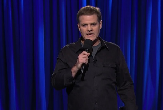 Greg Warren on Late Night with Seth Meyers