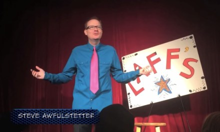 "Here's a parody of FOX's ""Laughs"" with Steve Hofstetter called ""Laffs"""