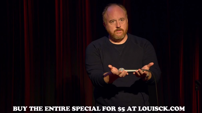 Louis CK talks Live at The Comedy Store with former Comedy Store regular David Letterman