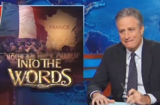 The Daily Show with Jon Stewart explains comedy, freedom of expression to France following Charlie Hebdo, Dieudonne