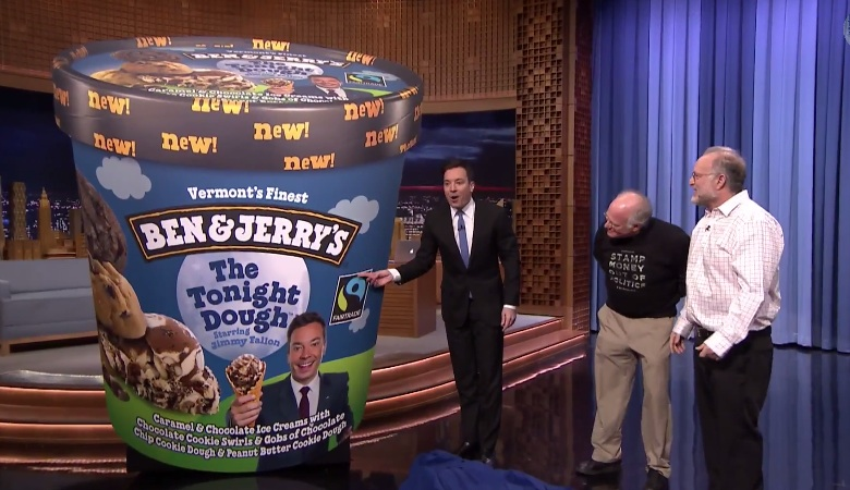 Ben & Jerry's unveils new flavor, The Tonight Dough, for Jimmy Fallon