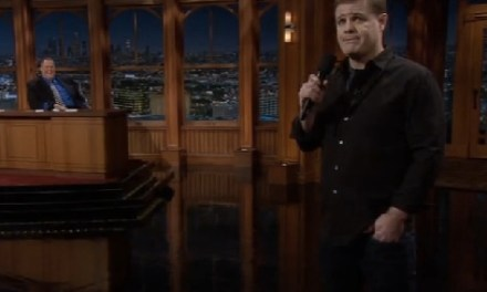 Greg Warren on The Late Late Show