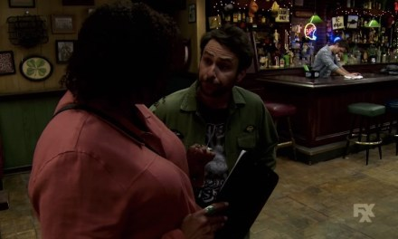 """The long tracking shot from """"Charlie Work"""" episode of It's Always Sunny in Philadelphia"""