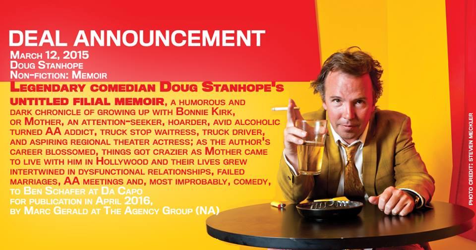 Doug Stanhope inks deal to write his memoir