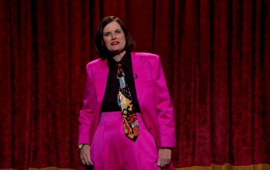 Paula Poundstone on The Late Late Show