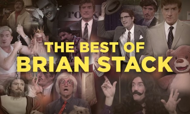 Conan and Team Coco say goodbye to writer/performer Brian Stack after 18 years