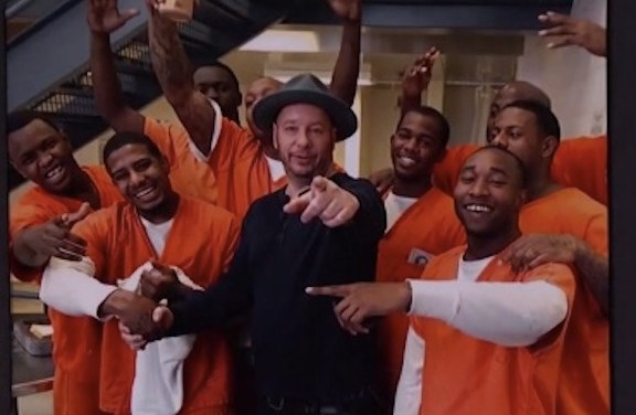 Jeffrey Ross recorded his upcoming Comedy Central special in a Texas county jail