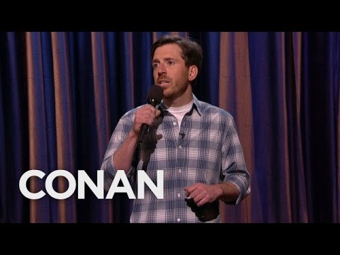 Joe Zimmerman on Conan