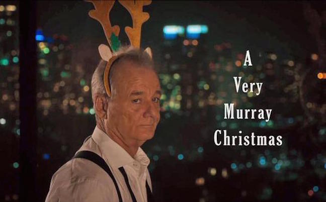 "Bill Murray's ""A Very Murray Christmas"" comes to Netflix"
