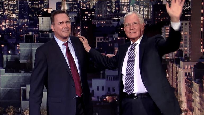 Norm Macdonald's late-night tribute to David Letterman