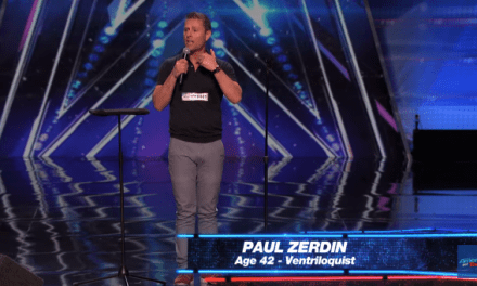 Ventriloquist Paul Zerdin's audition for America's Got Talent 10