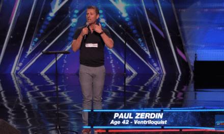 Ventriloquist Paul Zerdin's audition for America's Got Talent 10