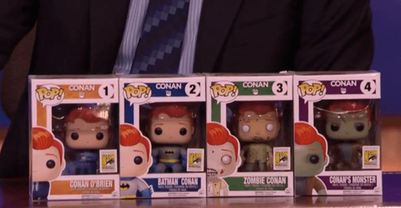 New Conan O'Brien Pop! Funko toys unveiled just in time for Comic-Con 2015