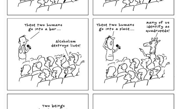 """The Joke,"" a cartoon by Jim Benton"