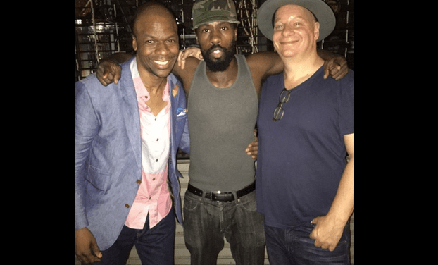 Sightings: Ardie Fuqua says hi to old friends at The Comedy Cellar