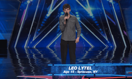 15-year-old Leo Lytel's audition for America's Got Talent 2015