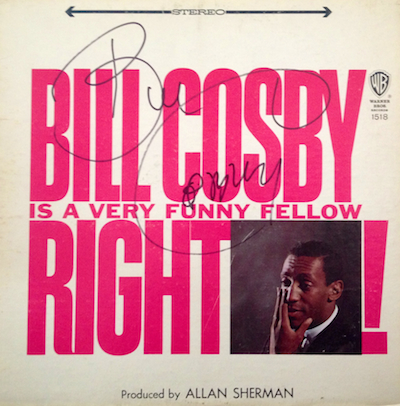 "Postscript: A father and former fan of Bill Cosby takes down his signed LP. ""It's over"""