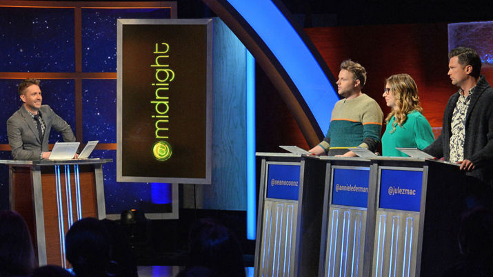 Adjust your watches (and DVRs): @midnight will air at 11 p.m. Eastern/Pacific (10 p.m. Central/Mountain) for two weeks in September 2015