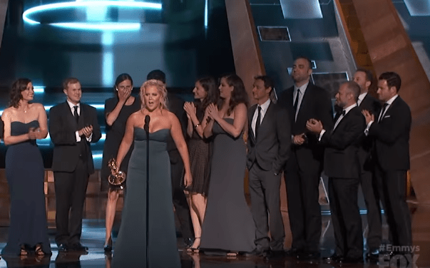 Inside Amy Schumer wins first Emmy Award for Outstanding Variety Sketch TV Series