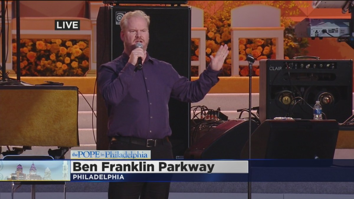 Jim Gaffigan live at the Festival of Families in Philadelphia ...