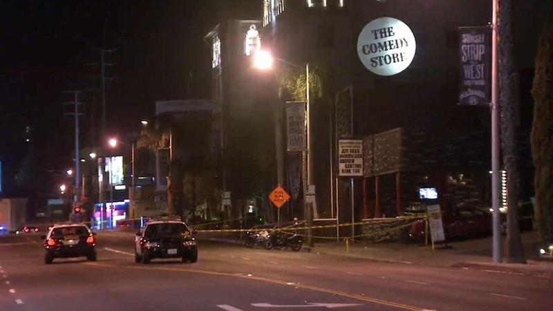 Fatal shooting outside The Comedy Store leaves one audience member dead