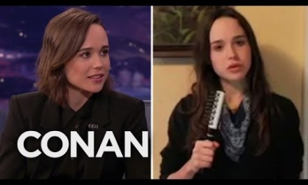 Ellen Page's audition tape for Conan O'Brien airs on CONAN