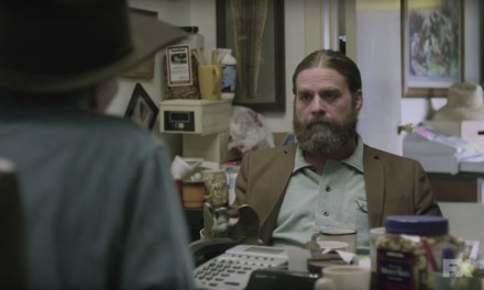 "See how Zach Galifianakis got his clown name in FX's ""Baskets"""