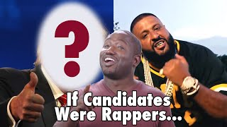 Hannibal Buress compares the 2016 presidential candidates to rappers