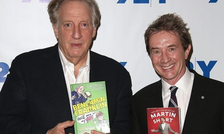 Alan Zweibel in conversation with Martin Short at the 92Y