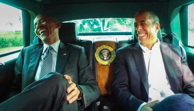 President Barack Obama opens seventh season of Jerry Seinfeld's Comedians In Cars Getting Coffee