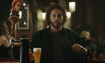Watch TJ Miller in a Super Bowl ad for Shock Top