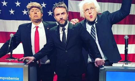 Trump vs. Bernie takes over @midnight for a full-hour, reconvening for Fusion debate taping