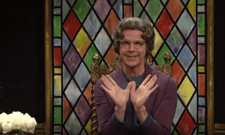 Dana Carvey returns to SNL for a special Church Lady cold open to remind you to watch USA's First Impressions on Tuesday