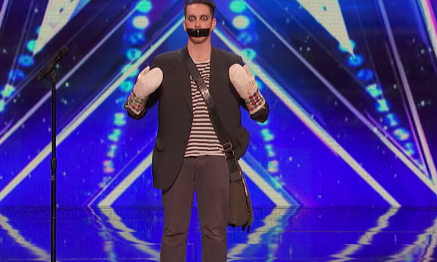 Tape Face auditions for America's Got Talent 2016