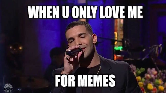 Drake acknowledges his memes, impersonates Rihanna in his SNL monologue
