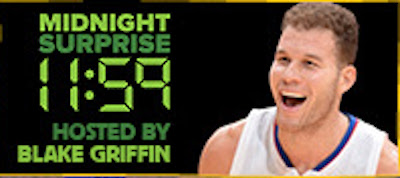 "Blake Griffin hosting ""Midnight Surprise"" comedy showcases at 2016 Montreal Just For Laughs"