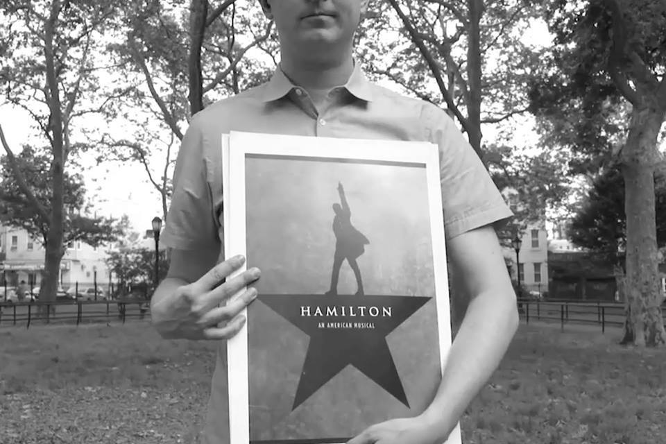 "Richie Moriarty sings ""Alexander Hamilton"" from the hit musical Hamilton, via 14 different impersonations"