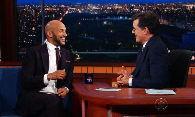 Keegan-Michael Key talks improv with Stephen Colbert on The Late Show
