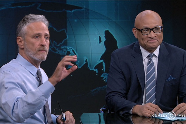 "The finale of ""The Nightly Show with Larry Wilmore"" with special guest Jon Stewart"