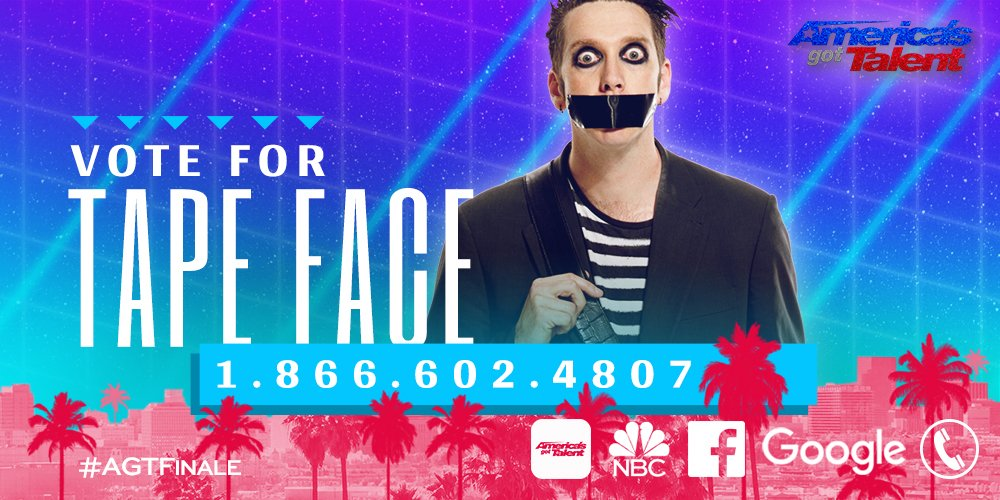 Watch Tape Face's performance in the 2016 America's Got Talent finale