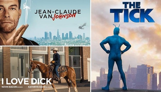 Amazon renews The Tick, but cancels One Mississippi, I Love Dick and Jean-Claude Van Johnson