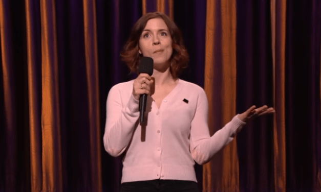 Alice Wetterlund on Conan