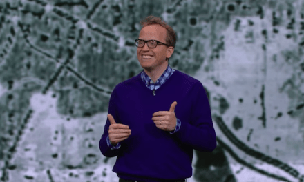 "Chris Gethard performs a scene from ""Career Suicide"" on The Late Show with Stephen Colbert"