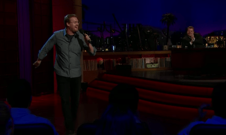 Kurt Braunohler on The Late Late Show with James Corden