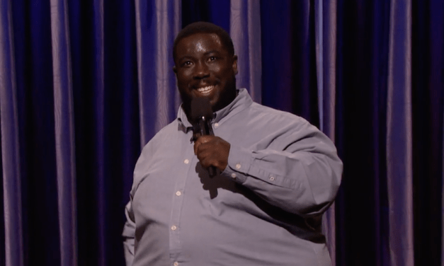 David Gborie's late-night debut on Conan