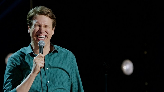 "Review: Pete Holmes, ""Faces and Sounds"" on HBO"