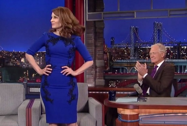 David Letterman interviews Tina Fey for The Hollywood Reporter