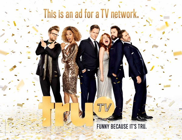"truTV rebrands, new tagline for 2017: ""Funny Because It's tru"""